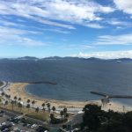 西浦温泉ホテル東海園&西浦パームビーチで海水浴